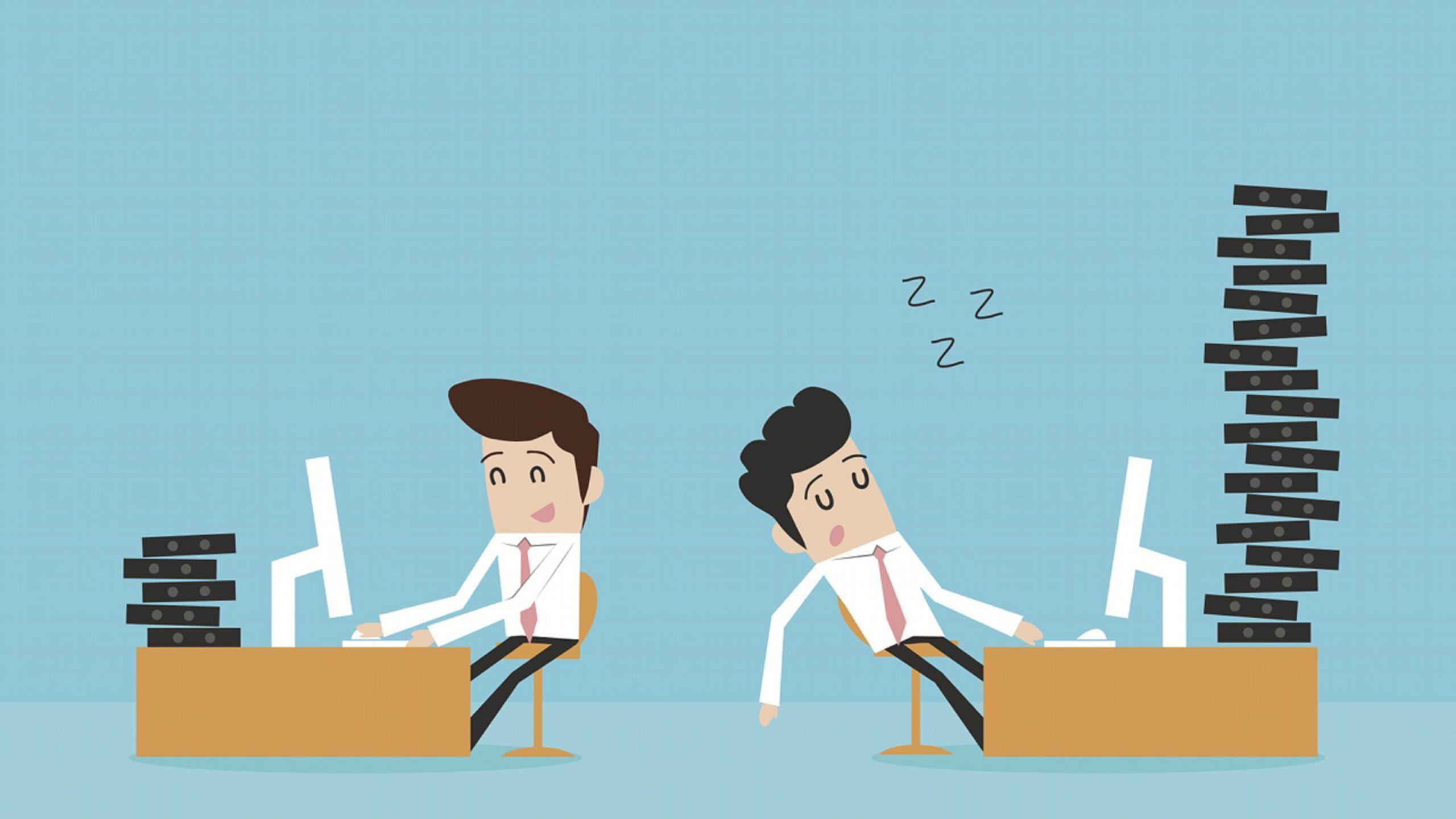 Produtividade no trabalho e na digitação