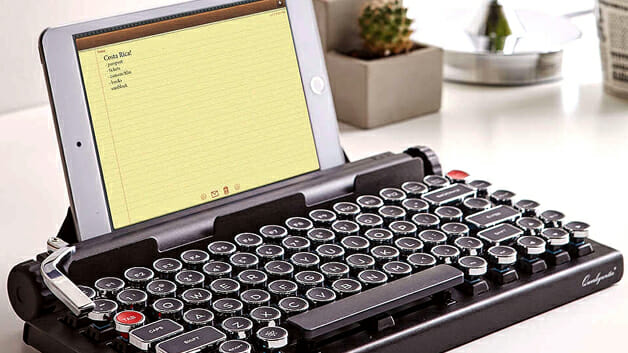 teclado ou maquina de escrever
